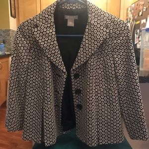 Ann Taylor petite cropped swing type jacket